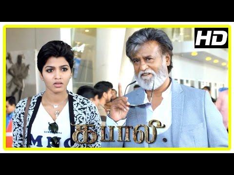 Kabali Tamil Movie   Rajini and Dhansika...