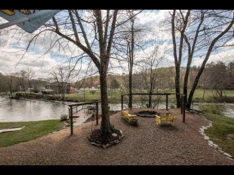 Toccoa River Cabin For Sale -Blue Ridge GA Real Estate