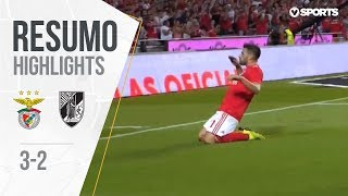 Highlights | Resumo: Benfica 3-2 V. Guimarães (Liga 18/19 #1)
