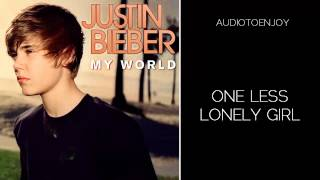 Justin Bieber - One Less Lonely Girl (Audio)