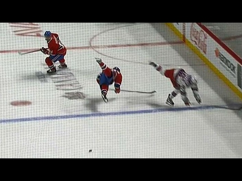 Zuccarello and Gallagher go flying after knee-on-knee collision