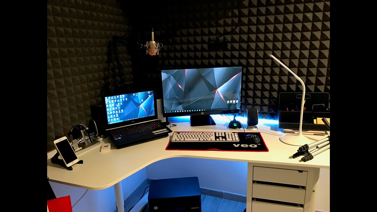 Pannelli fonoassorbenti setup stanza pc come montare e - Pannelli decorativi fai da te ...