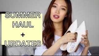 Updates + Summer Haul   Sephora, StyleWe, Zara