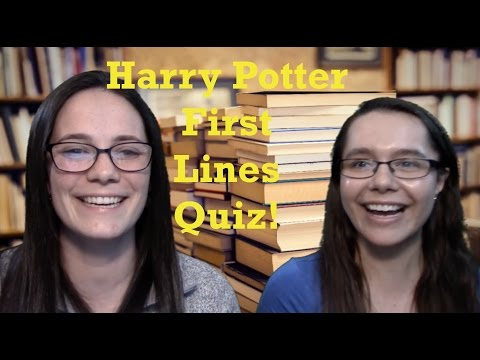 Harry Potter Character by First Line Quiz Stats