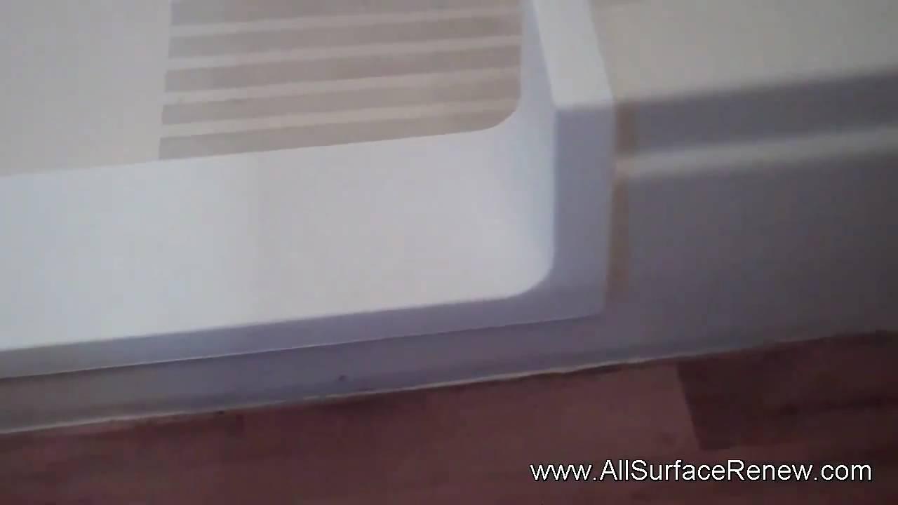 Bathtub to Shower Stall Conversion on a Fiberglass Tub YouTube