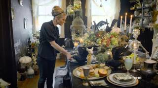 How To Decorate Your Halloween Table‬‬ | Grandin Road