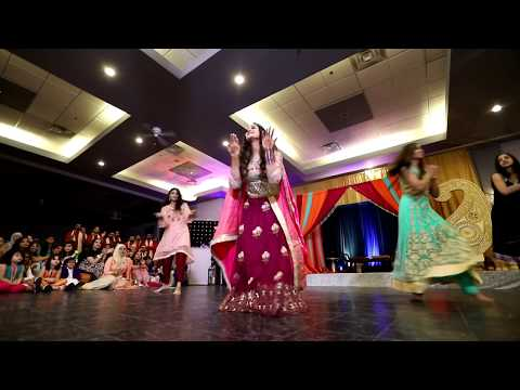 Best Bollywood Mehndi Dance - 2018 | #Mad4Hamz Bride Squad (1/2)