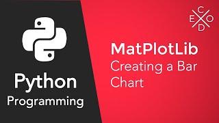 Bar plot in python