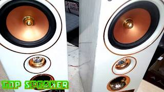 Glossy White Cooper 5 Speaker Audionic The Sound Master