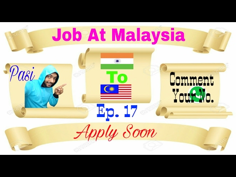 New Job At Malaysia Hotel Waiter Apply soon and fast Feb 2017 Must watch In Hindi