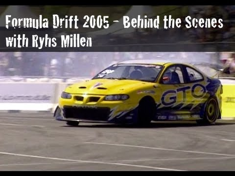 Formula Drift 2005 - Behind the Scenes with Rhys Millen and RMR