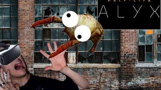 I hate VR headcrabs... (Half Life: Alyx EP 2)