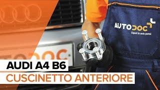 Come sostituire il cuscinetto anteriore su AUDI A4 B6 [TUTORIAL]