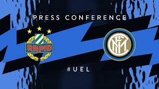 RAPID vs INTER | Pre-Match Press Conference LIVE | Matteo Politano and Luciano Spalletti