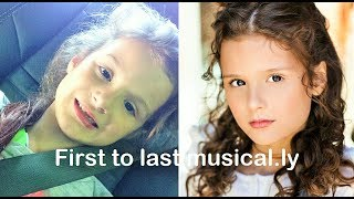Hayley's Musical.ly \\ First to Last Musical.ly Compilation