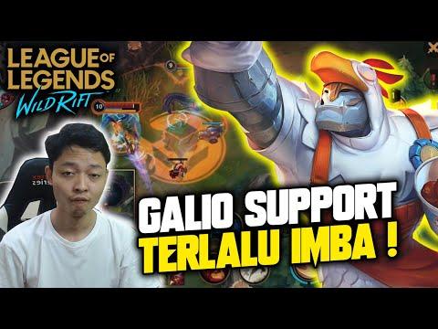 GALIO SUPPORT TERLALU IMBA ! FIRST WIN DI SEASON 2 ! - LoL Wild Rift Indonesia