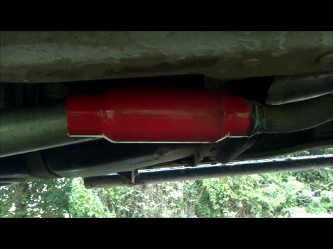 ford ranger 3 0 exhaust cherry bomb glasspack muffler. Black Bedroom Furniture Sets. Home Design Ideas