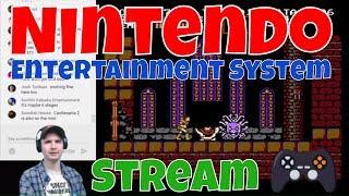 Nintendo Nes Stream - Gradius / Double Dragon 2 / Ghost N Goblins / Galaga / Castlevania / Mario /