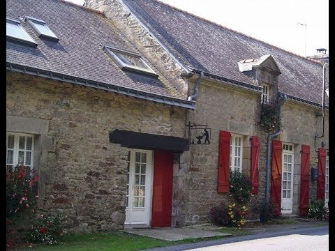 Brittany Holiday Cottages (Gîtes De France) Brittany Cottage With Heated Swimming Pool And Gym