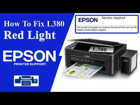 Epson L380 Resetter | And More Resetters Available Here...