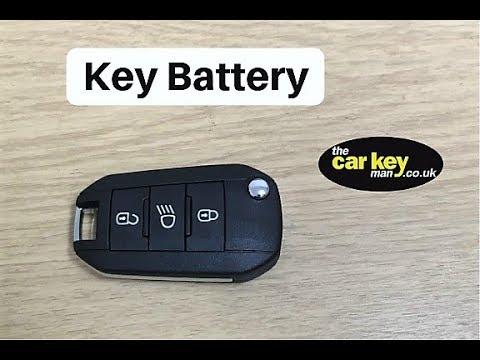 2 x CR1620 Peugeot 508 RCZ BOXER 107 3008 208 Remote Key Fob Car Alarm Battery