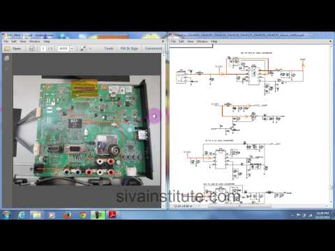 How to check Dead LED TV Motherboard step by step - YouTube