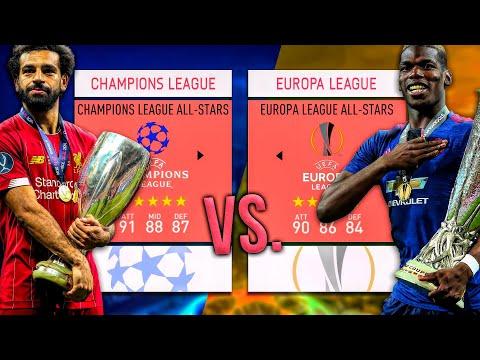Champions League ALL-STARS vs. Europa League ALL-STARS! - FIFA 20 Career Mode
