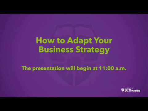 How to Adapt Your Business Strategy