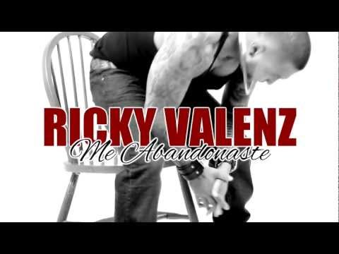 Ricky Valenz - Me Abandonaste (Official Music Video) Tejano 2012