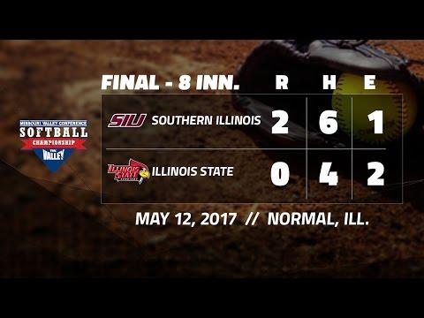 #MVCSoftball Highlights: Southern Illinois vs Illinois State