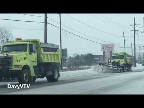 """Rochester, NY's First """"Snowstorm"""" of 2018, and Small Tour of Downtown 585"""