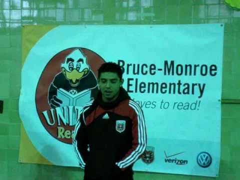 Christian Castillo's Introduction at Bruce Monroe Elementary School