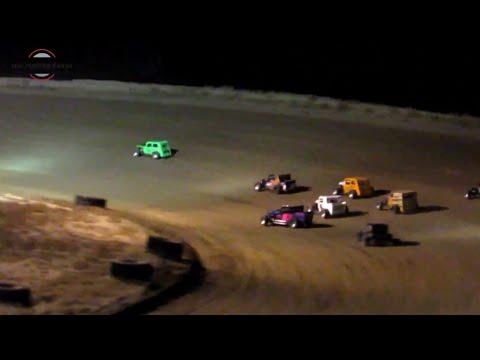Desert Thunder Raceway Dwarf Car Heat Race 9/28/18