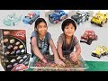 Disney Cars 3 Mini Racers Wave 4 Surprise Blindbags Opening Taco Faregame APB ORBEEZ CHALLENGE