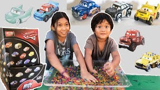 Disney Cars 3 Mini Racers Wave 4 Surprise Blindbags Opening Taco Faregame APB ORBEEZ CHALLENGE