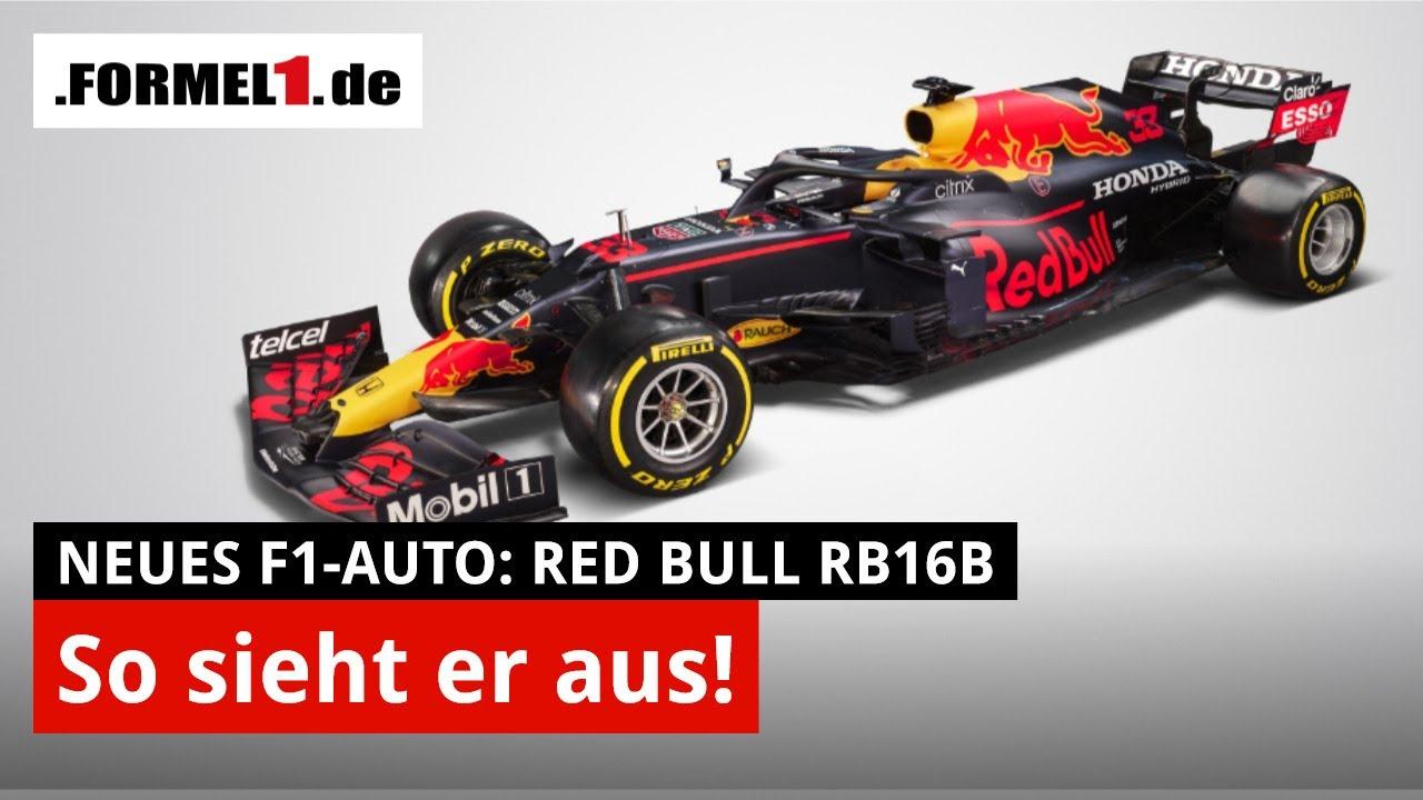 launch red bull rb16b so sieht verstappens neues auto aus f1 2021