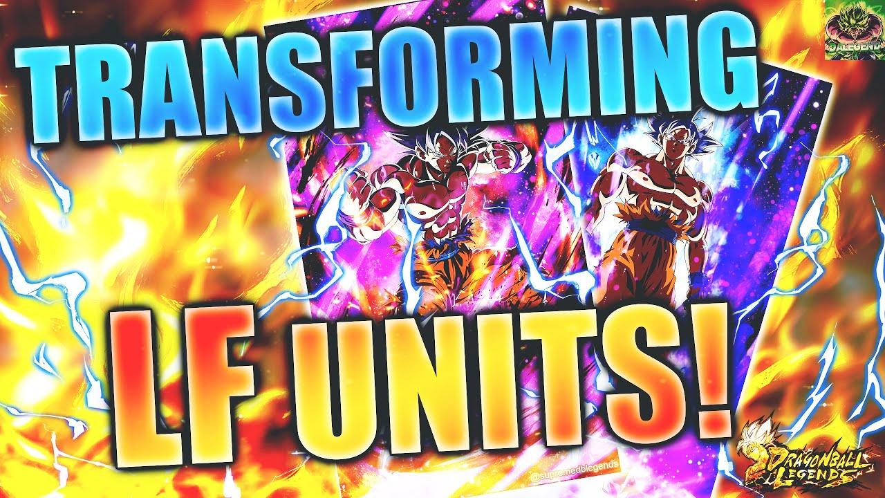 TRANSFORMING LF ART CARDS FOR DRAGON BALL LEGENDS! [EDIT]