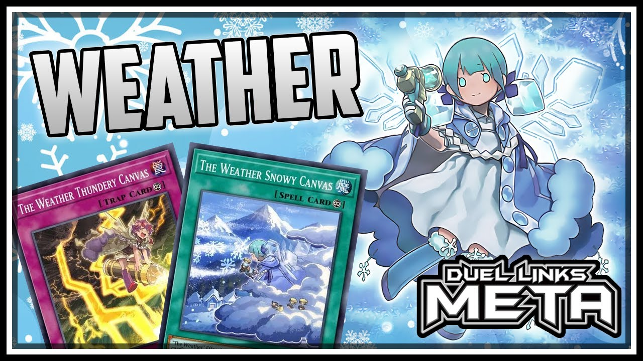 NEW Weather Painters! Surprisingly Competitive! [Yu-Gi-Oh! Duel Links]