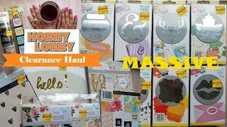 Time for Wine! MASSIVE Hobby Lobby 75% off  Clearance Haul | Paper Punches,Clear Stamps & More...