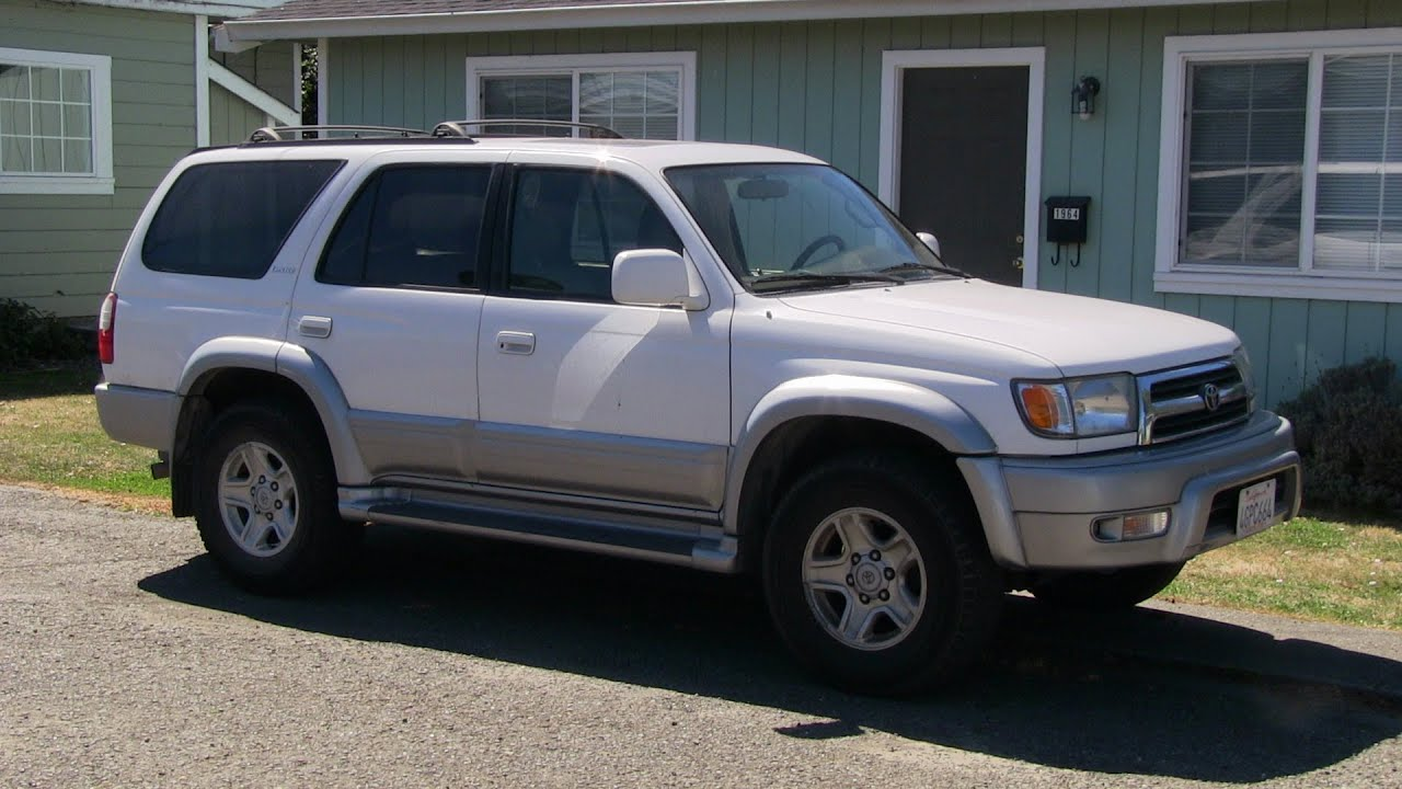 1999 Toyota 4runner Limited Youtube