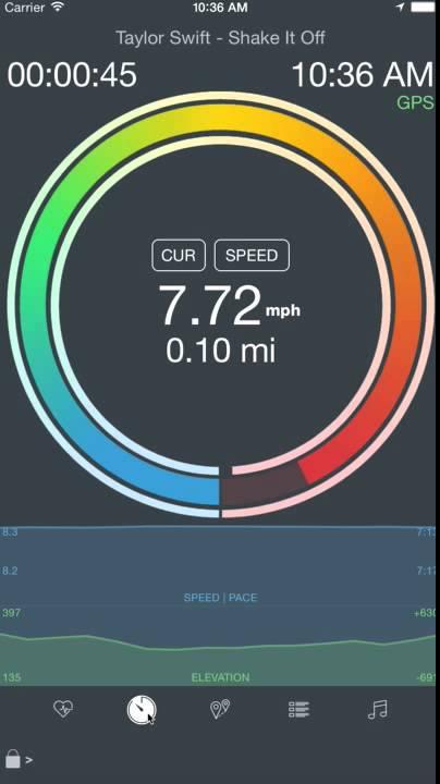 MotiFIT Run Walking Running Walking GPS Workout Tracker App Demo - YouTube