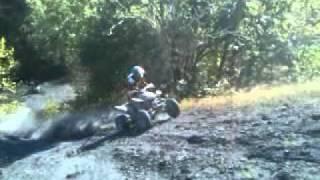 Luke climbs nasty coal hill