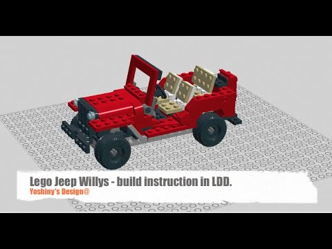 How To Build A Lego Jeep Willys Set 31024 Youtube