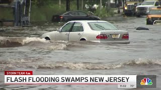 73 People Rescued After Flash Flooding Swamps New Jersey