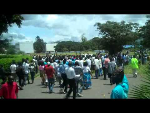 Protests as DPP acting president Peter Mutharika is arrested