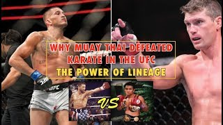 Why Muay Thai Defeated Karate in the UFC | The Power of Lineage