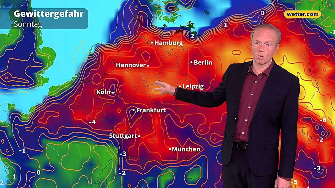 Wetter Heute Die Aktuelle Vorhersage 19052019 Youtube