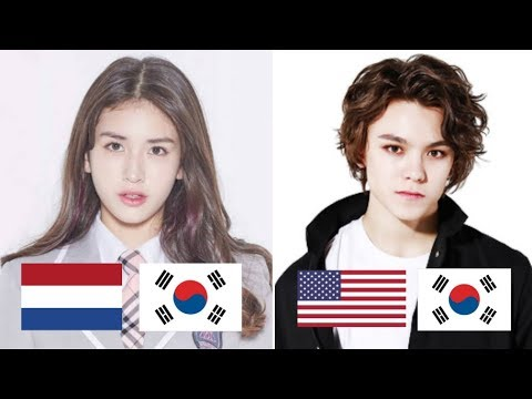 Half Korean Kpop Idols Youtube