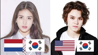 Half Korean Kpop Idols