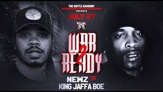 Newz Vs  King Jaffe Boe  - The Battle Academy Presents
